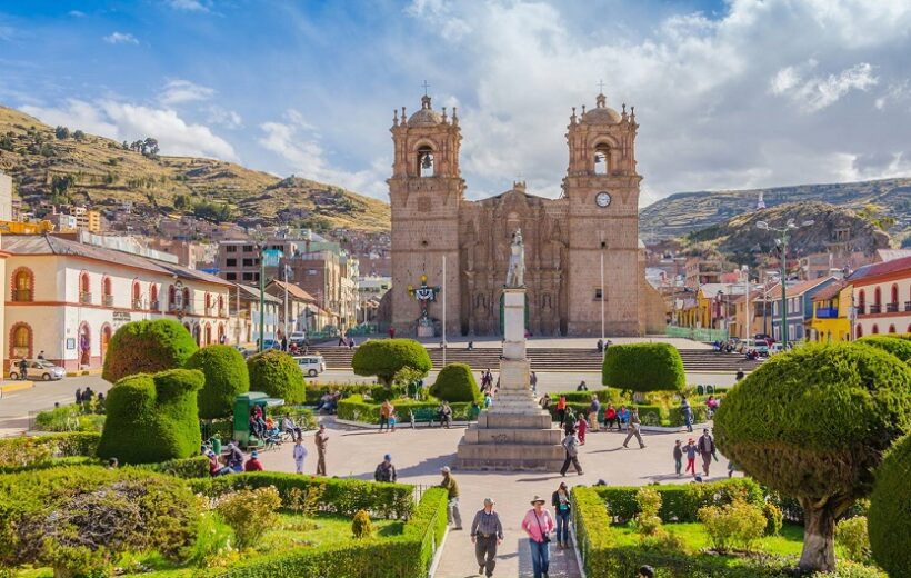 Hoteles en Puno